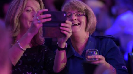 Guests enjoy themselves at the Stars of Suffolk Awards 2017. Picture: SARAH LUCY BROWN