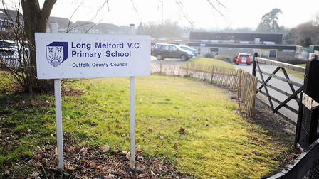 Long Melford Primary School. Picture: GREGG BROWN