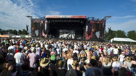 A previous year's V Festival at Hylands Park, Chelmsford. Picture: James McCauley