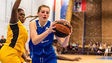 Cameron Taylor-Willis was key for the Under 16 girls. Picture: PAVEL KRICKA