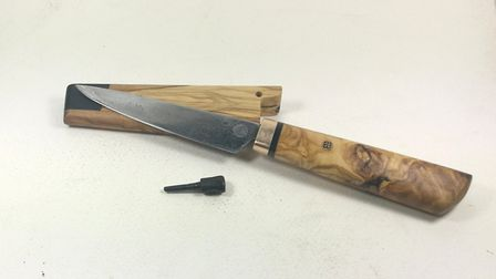 One of Sergio's knives