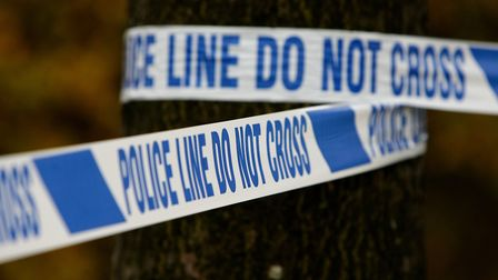 A generic view of police tape. Picture: Dave Thompson/PA
