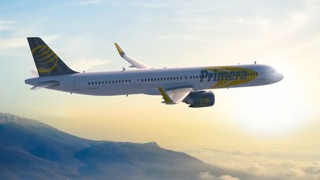 Primera Air is to launch scheduled transatlantic services from Stansted Airport. Picture: PRIMERA