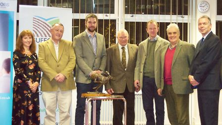 Suffolk FWAG presentation evening 2016 at Trinity Park. Picture: SARAH CHAMBERS