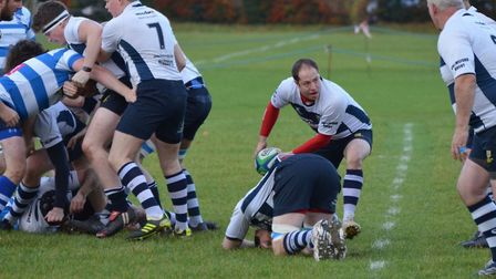 Chelmsford in action against Wanstead. Picture: ROB EVANS