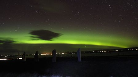 Let us know if you see the Northern Lights this evening. Picture: CHRISTINE HALL
