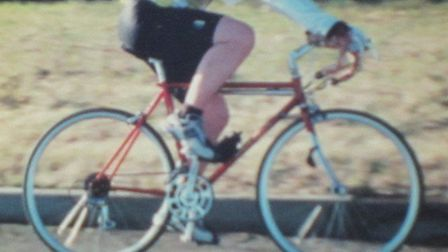 Brian Rowson's Edison bike has now been recovered. Picture: CONTRIBUTED