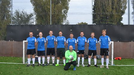 The Pigeon Investment Management Ltd six-a-side team