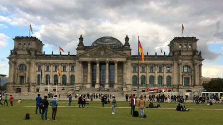 The restored Reichstag building in Berlin. Picture PAUL GEATER