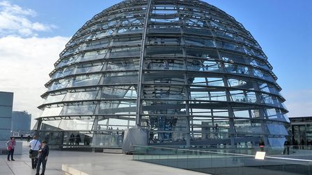 The Reichstag Dome in Berlin. Picture PAUL GEATER