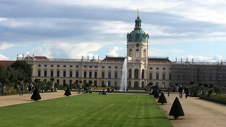 The former royal palace at Charlottenburg in Berlin. Picture PAUL GEATER