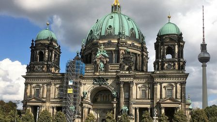 The Berlin Dom - the city's main Lutheran Cathedral. Picture: PAUL GEATER.