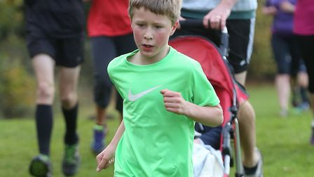 Junior runners are a big feature of the weekly Bury St Edmunds Parkrun, held at Nowton Park. Picture