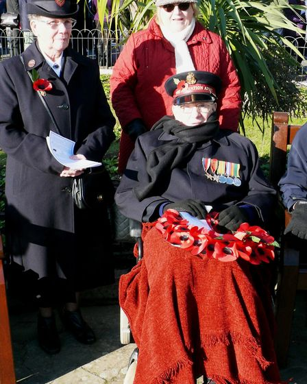 Members of the Salvation Army. Picture: NIGEL BROWN