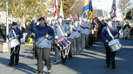 Colchester Scout Band. Picture: NIGEL BROWN