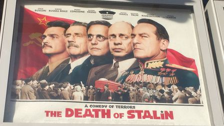 It's not too late to watch The Death of Stalin at the cinema. Picture: MEGAN ALDOUS