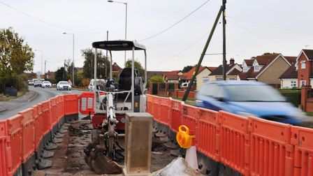 File image of roadworks being carried out. Picture: SARAH LUCY BROWN