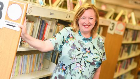 Alison Wheeler, who plans to retire from her role as chief executive of Suffolk Libraries in 2018. A