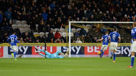 Bartosz Bialkowski is beaten by Nouha Dicko for Hull's second goal Picture Pagepix