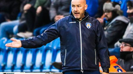 U's boss John McGreal, pictured during Saturday's 0-0 draw against Morecambe. Picture: STEVE WALLER