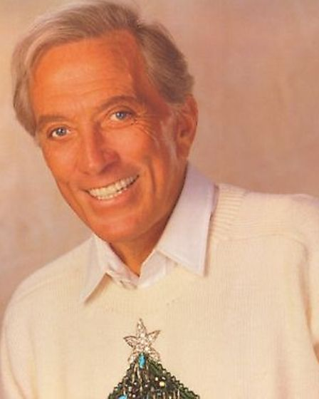Andy Williams in a festive jumper. Picture: ARCHIVE