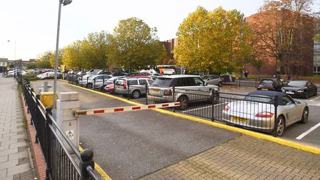 Tower Ramparts Car Park. NCP charges �3.50 an hour here. Picture: GREG BROWN