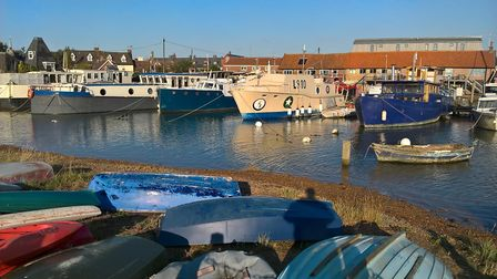 Taken on a stroll by the river Deben at Woodbridge. Picture: STEVE COATES