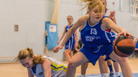 Esther Little led the way for Ipswich's under 16 girls in their big win. Picture: PAVEL KRICKA