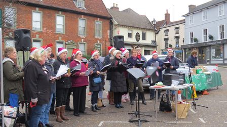There will be lots of festive singing as part of this year's Christmas celebrations in Framlingham.