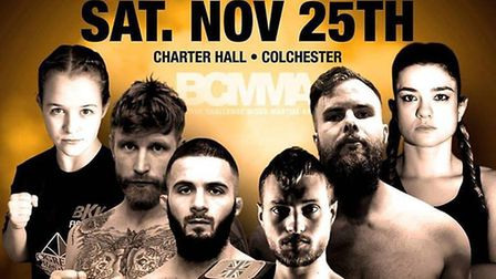 BCMMA 20 will be held at the Charter Hall in Colchester on Saturday, November 25. Picture: BCMMA