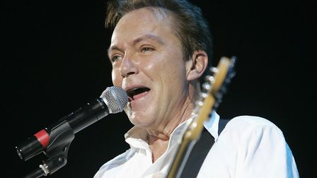 David Cassidy perofmring on 16/11/2008 at the Hammersmith Apollo in London. Picture: PRESS ASSOCIATI