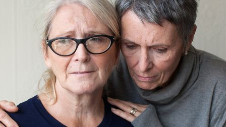 Some women live in silent agony for years: Photo: Laura Dodsworth