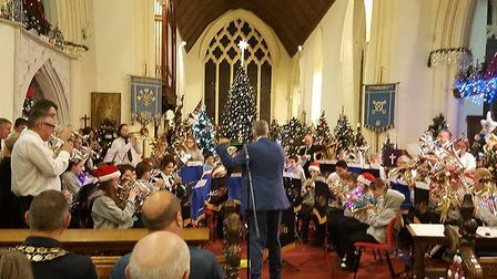 Simply Brass Stowmarket will perform in the lead-up to Christmas. Picture: CONTRIBUTED