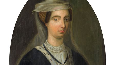 Lady Elizabeth de Clare: This painting hangs in the Great Hall of the Cambridge college she founded.