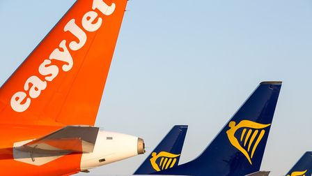 Ryanair and easyJet aircraft at Stansted Airport. Picture: Stansted Airport