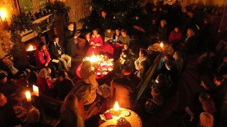 The Dickensian Christmas events at Kentwell Hall, Long Melford, are being held over two weekends in