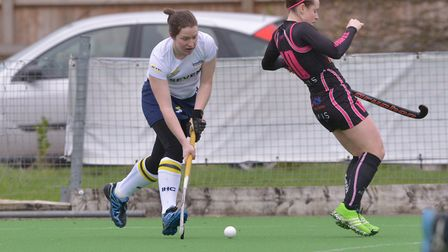 Kristine Ayling was Ipswich's player of the match in the draw at West Herts. Picture: PETER SAVAGE