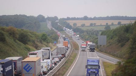 File image of the A14 in west Suffolk. Picture: ARCHANT