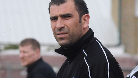 Bury Town boss Ben Chenery. Picture: ARCHANT