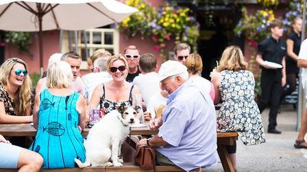 The Fox Inn, in Woodbridge, landed itself fourth place. Picture: CONTRIBUTED