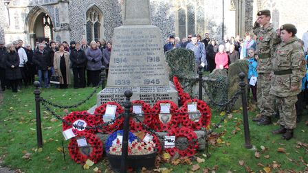 Ixworth Remembrance Parade