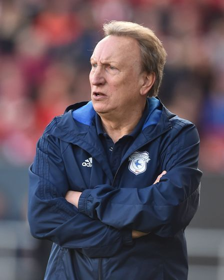 Cardiff City's manager Neil Warnock, doing well with the Bluebirds