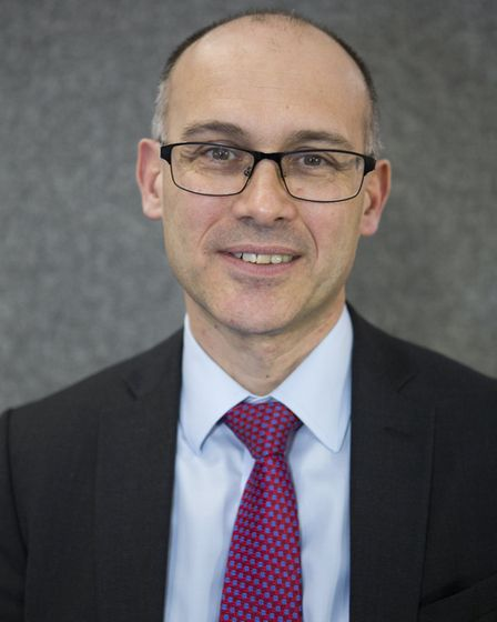 Andrew Radford, chief executive of national eating disorder charity, Beat. Picture: BEAT
