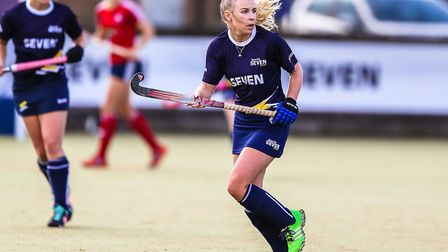 Kate Wingar, chair of Ipswich Hockey Club, is excited by what the future holds. Picture: STEVE WALLE