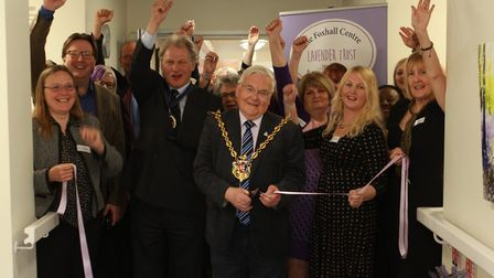 Since he became Suffolk�s High Sheriff in April, Geoffrey Probert has visited more than 300 charitie
