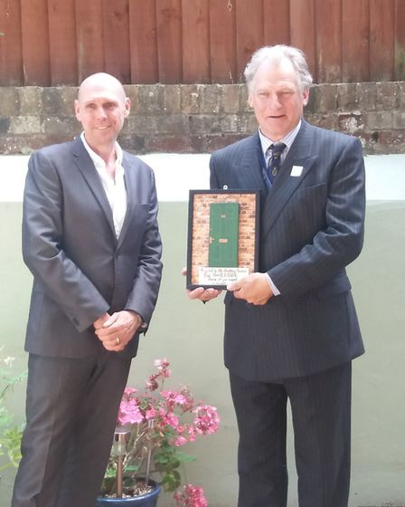 Focus 12 in Bury Edmunds was also one of the organisations visited by the High Sheriff of Suffolk Ge