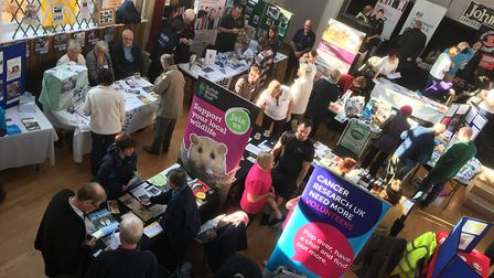 An Older Persons' Information Fair was held in Stowmarket last year and organisers hope to replicate