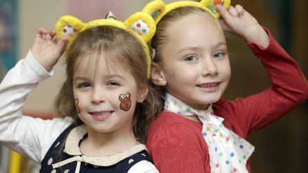 Pictured at last year's Children in Need fundraiser at Ardleigh St Marys Primary School, Leah Birch