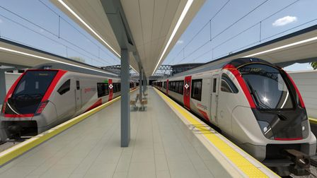 Experience Greater Anglia's brand new trains through virtual reality. Picture: Greater Anglia