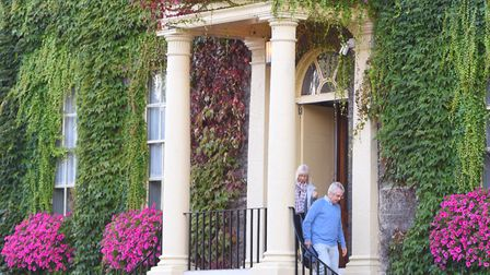 Bury in Bloom has been awarded best entry in Anglia in Bloom. Picture: GREGG BROWN